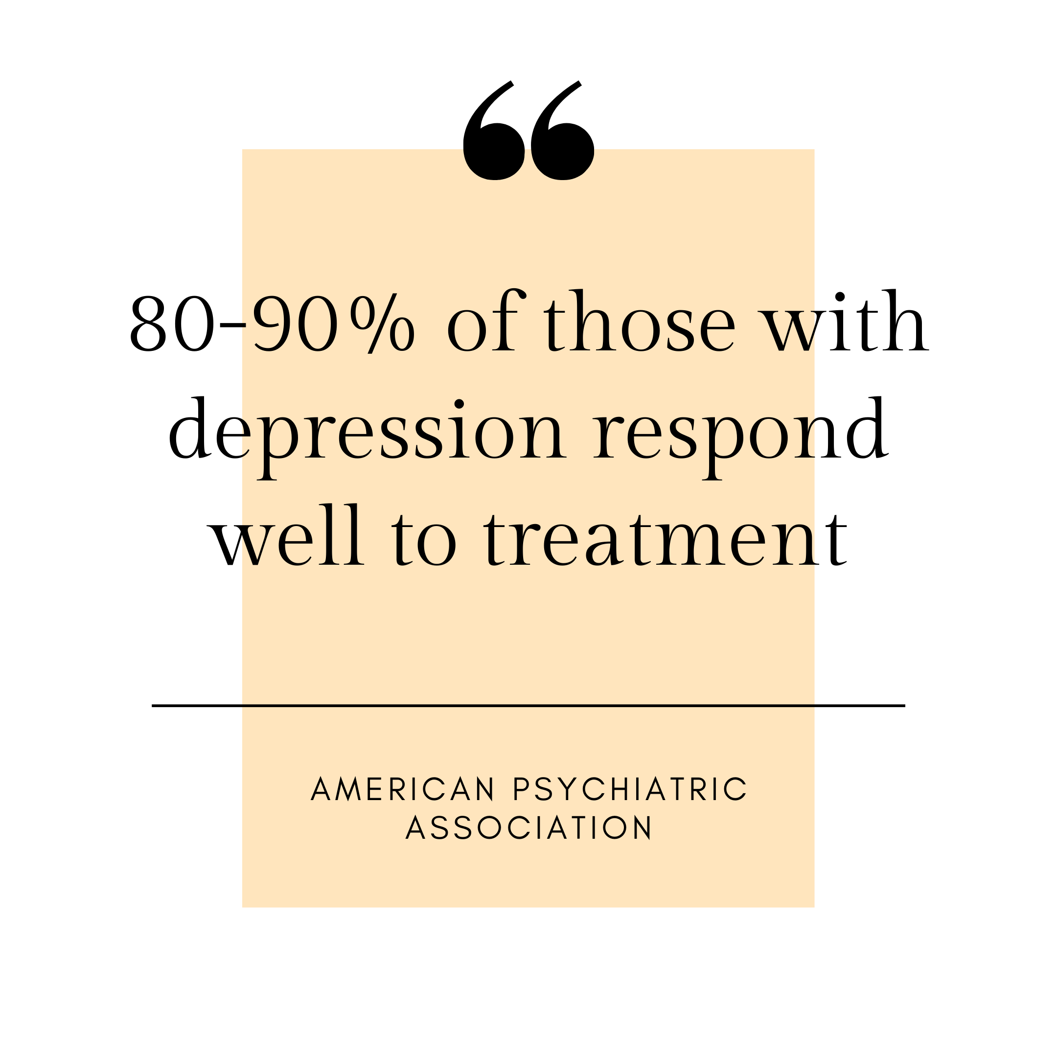 Depression Counselling - statistics for counselling success