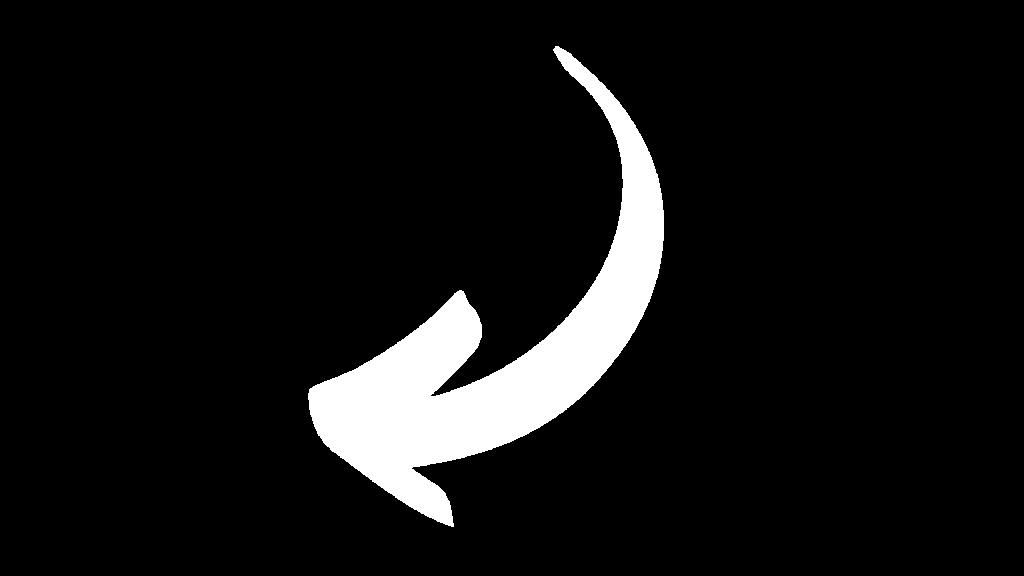 arrow white, left